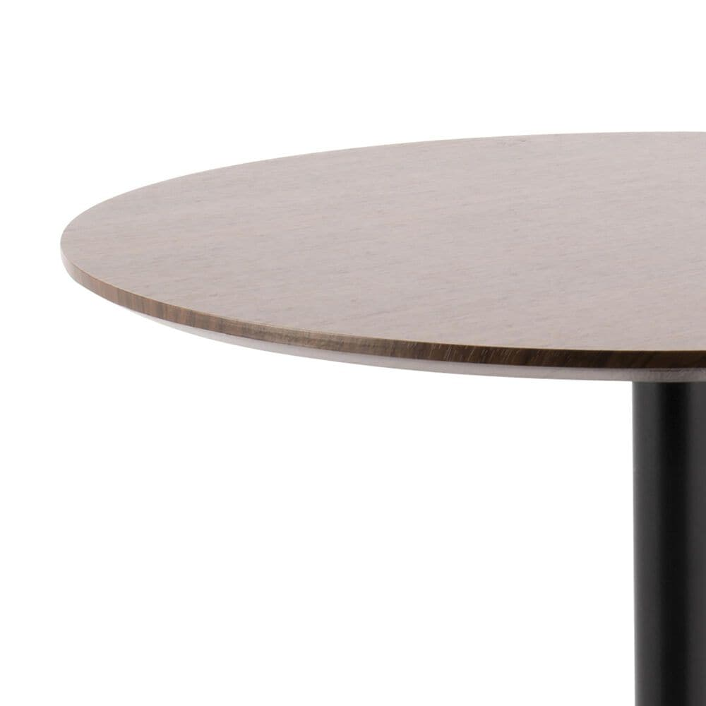 Lumisource Pebble Adjustable Table in Walnut/Black, , large