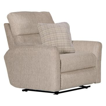 Hartsfield McPherson Power Lay Flat Recliner in Buff, , large