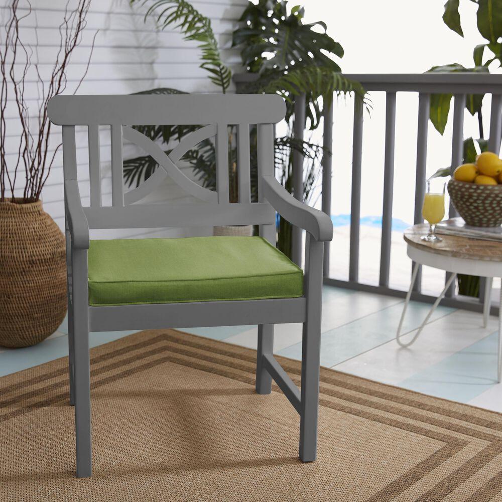 "Sorra Home Sunbrella 17"" Chair Pad in Spectrum Cilantro (Set of 2), , large"