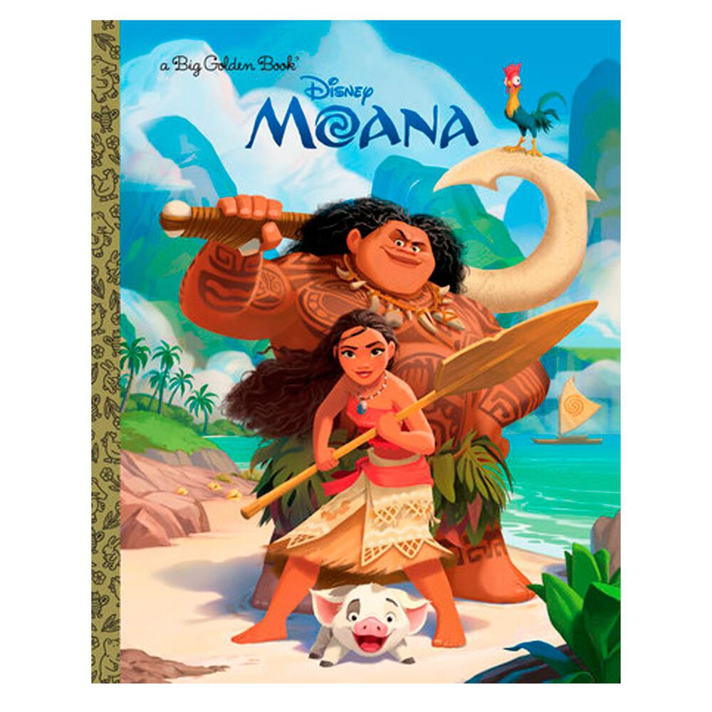 Moana Big Golden Book (Disney Moana), , large