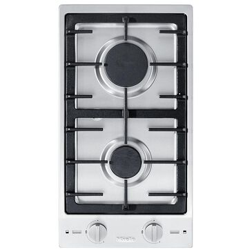 """Miele 12"""" Double Natural Gas Burner in Stainless Steel, , large"""