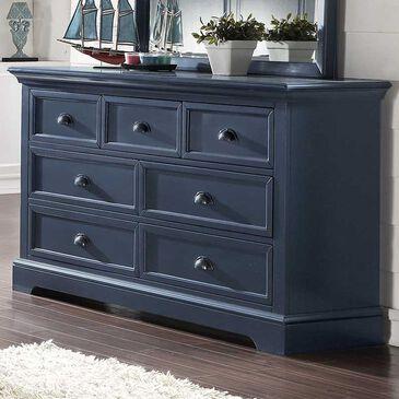 Bakersfield Tamarack 7-Drawer Dresser in Blue, , large