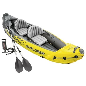 Intex Explorer K2 Kayak in Yellow, , large