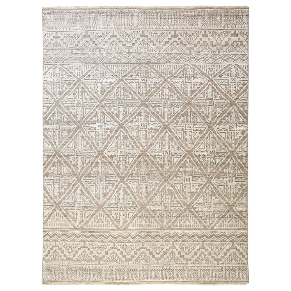 """Feizy Rugs Payton 6497F 5""""6"""" x 8""""6"""" Beige and Gray Area Rug, , large"""