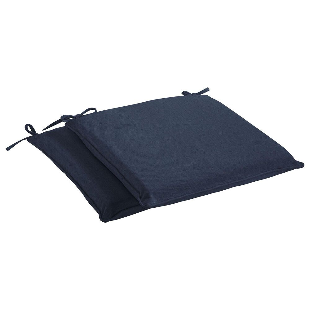 "Sorra Home Sunbrella 17"" Chair Pad in Spectrum Indigo (Set of 2), , large"