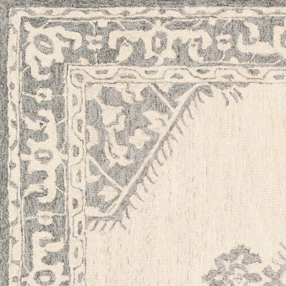 "Surya Granada GND-2307 2'6"" x 10' Medium Gray, Beige and Charcoal Runner Rug, , large"