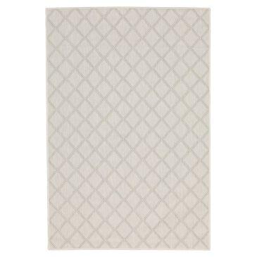"Oriental Weavers Portofino Outdoor 5098W 3'3"" x 5' Ivory and Gray Area Rug, , large"
