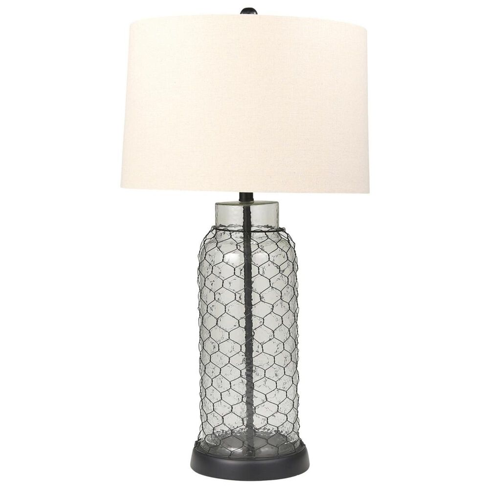 """Sagebrook Home 31"""" Table Lamp in Clear/Frost, , large"""