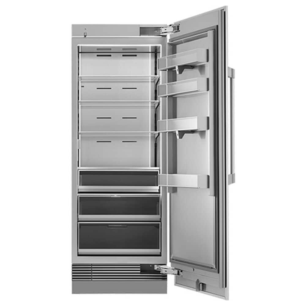 """Dacor Heritage 30"""" Column Right Door Panel in Silver Stainless Steel, , large"""