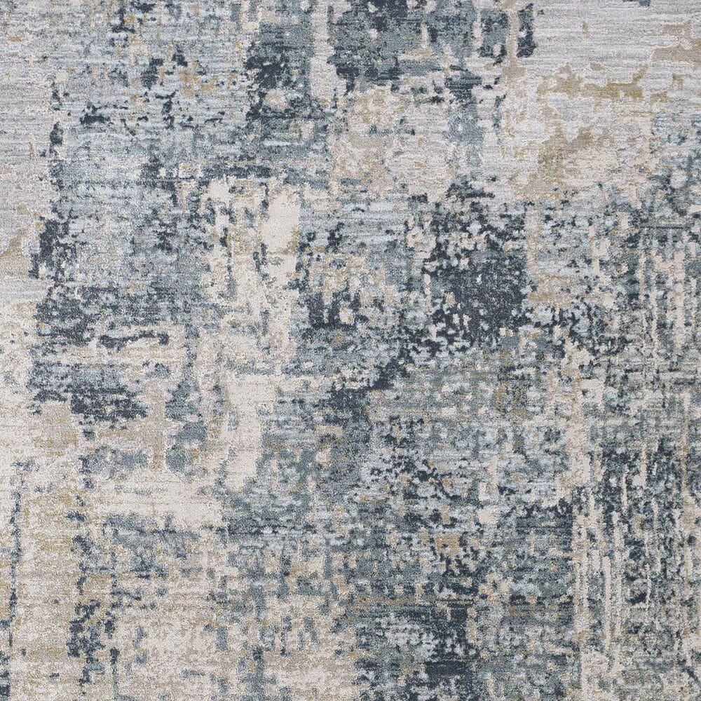 "Surya Brunswick 2'7"" x 4' Sage, Gray, White and Blue Area Rug, , large"