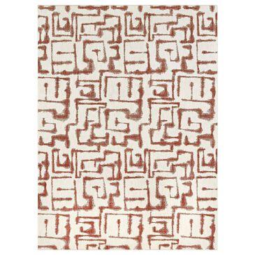 Karastan Soiree Sazerac 91966-97031 8' x 11' Rose Gold Area Rug, , large