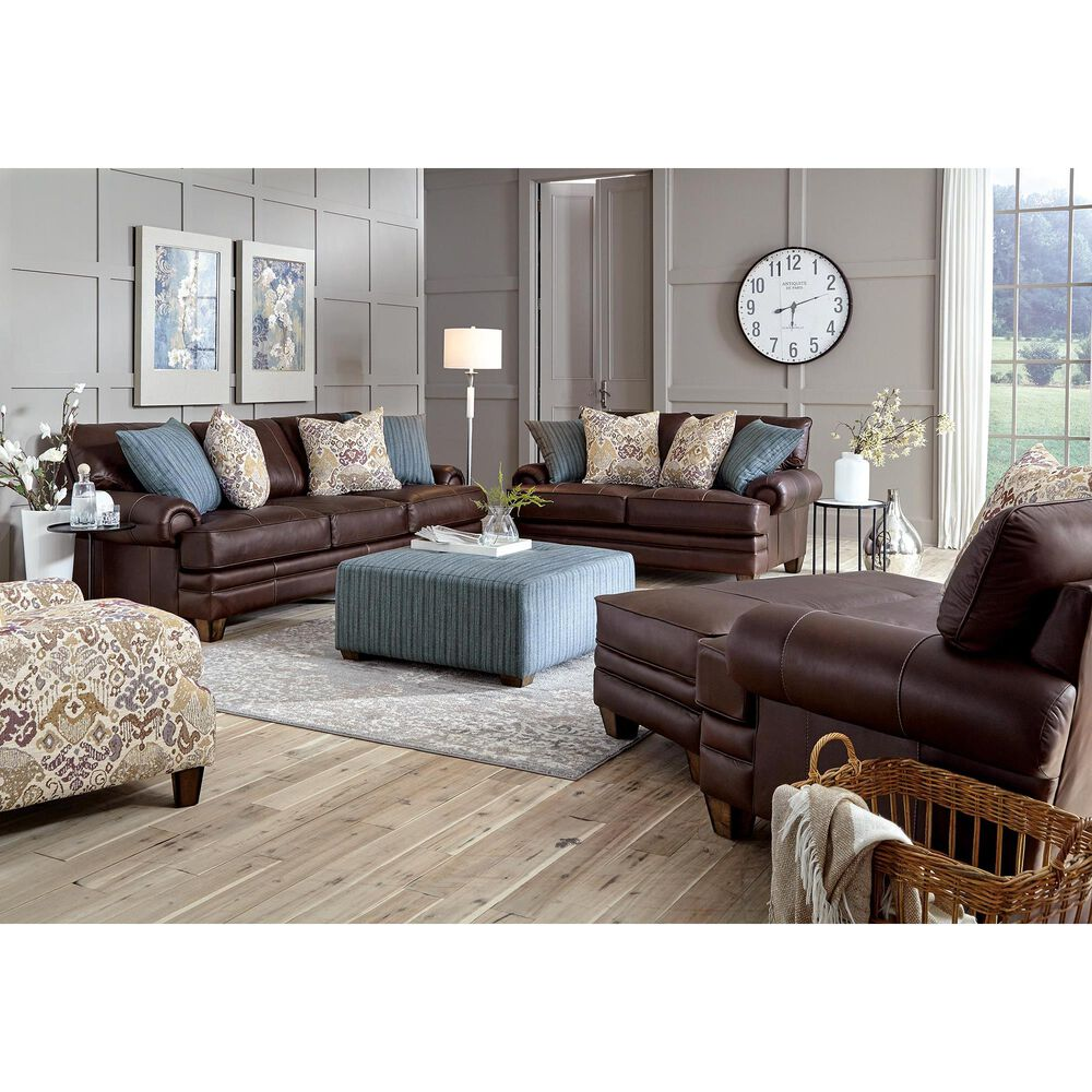 Moore Furniture Monaco Chair and A Half in Dark Brown, , large