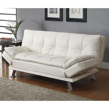 Living Essentials Dilleston Convertible Sofa in White , , large