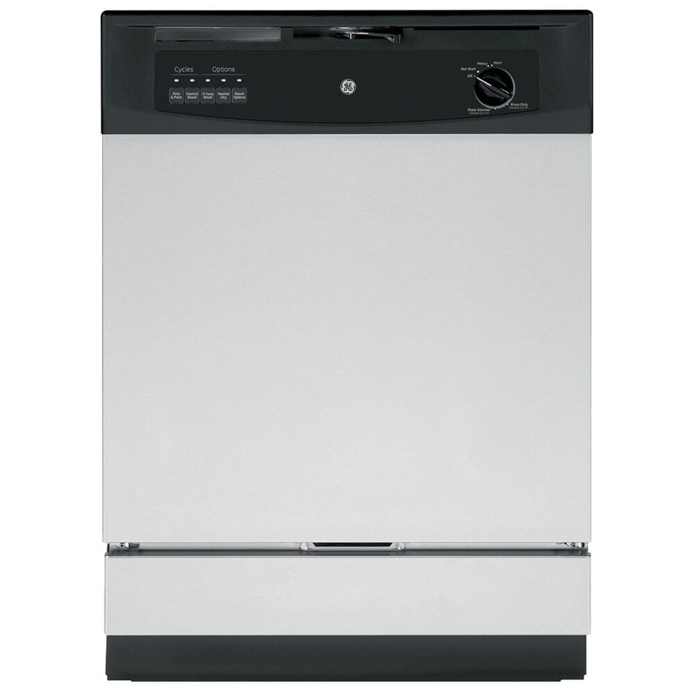 """GE Appliances 24"""" Built-In Dishwasher in Stainless Steel, , large"""