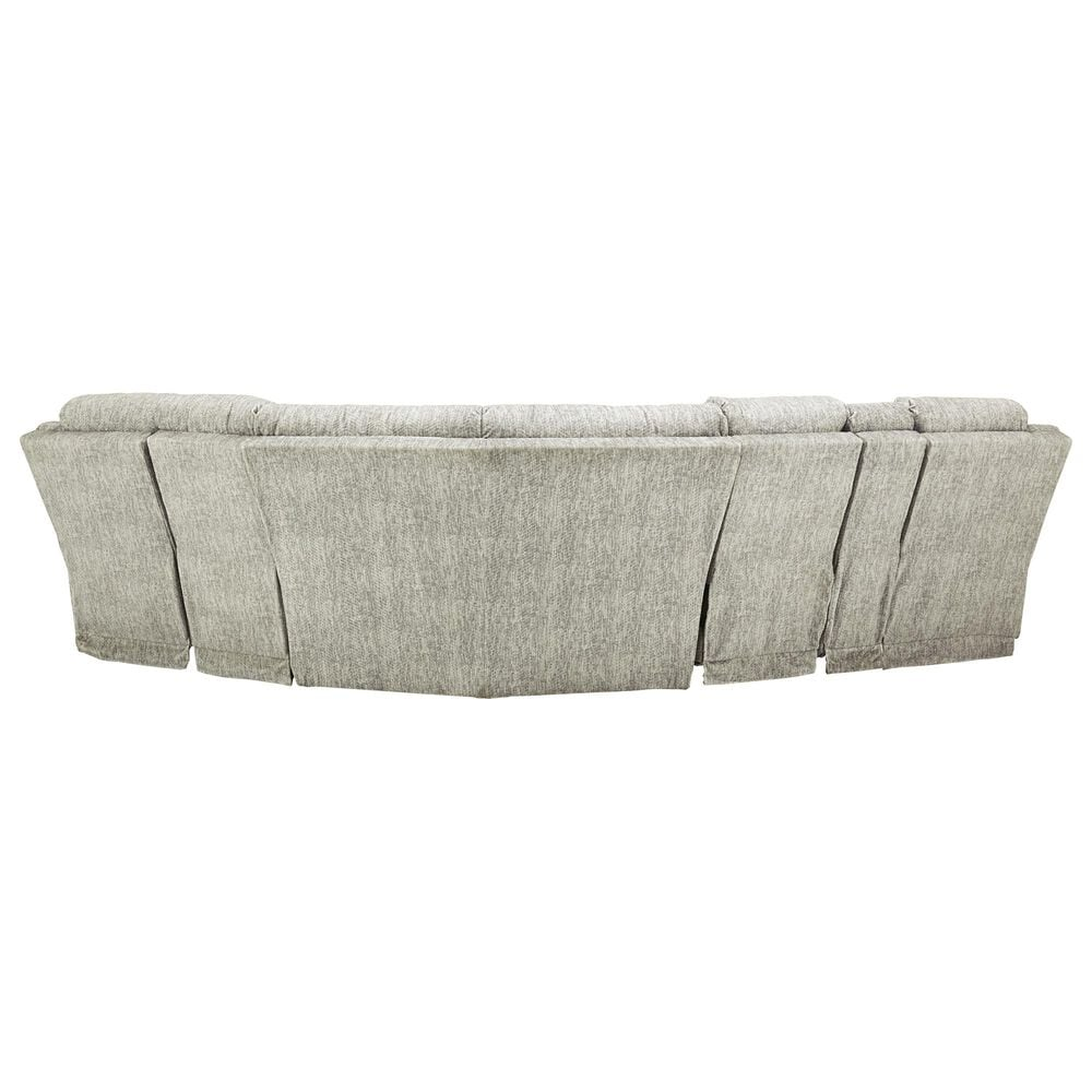Signature Design by Ashley Family Den 3-Piece Right Power Reclining Sectional in Pewter, , large