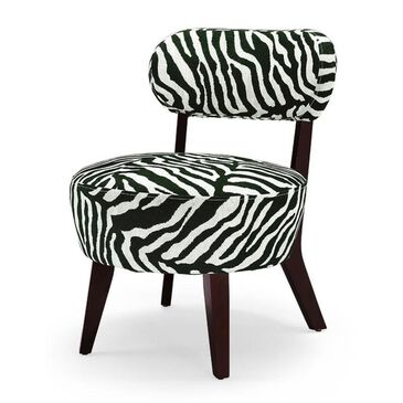 Augustus Lane Olin Accent Chair in Zebra, , large