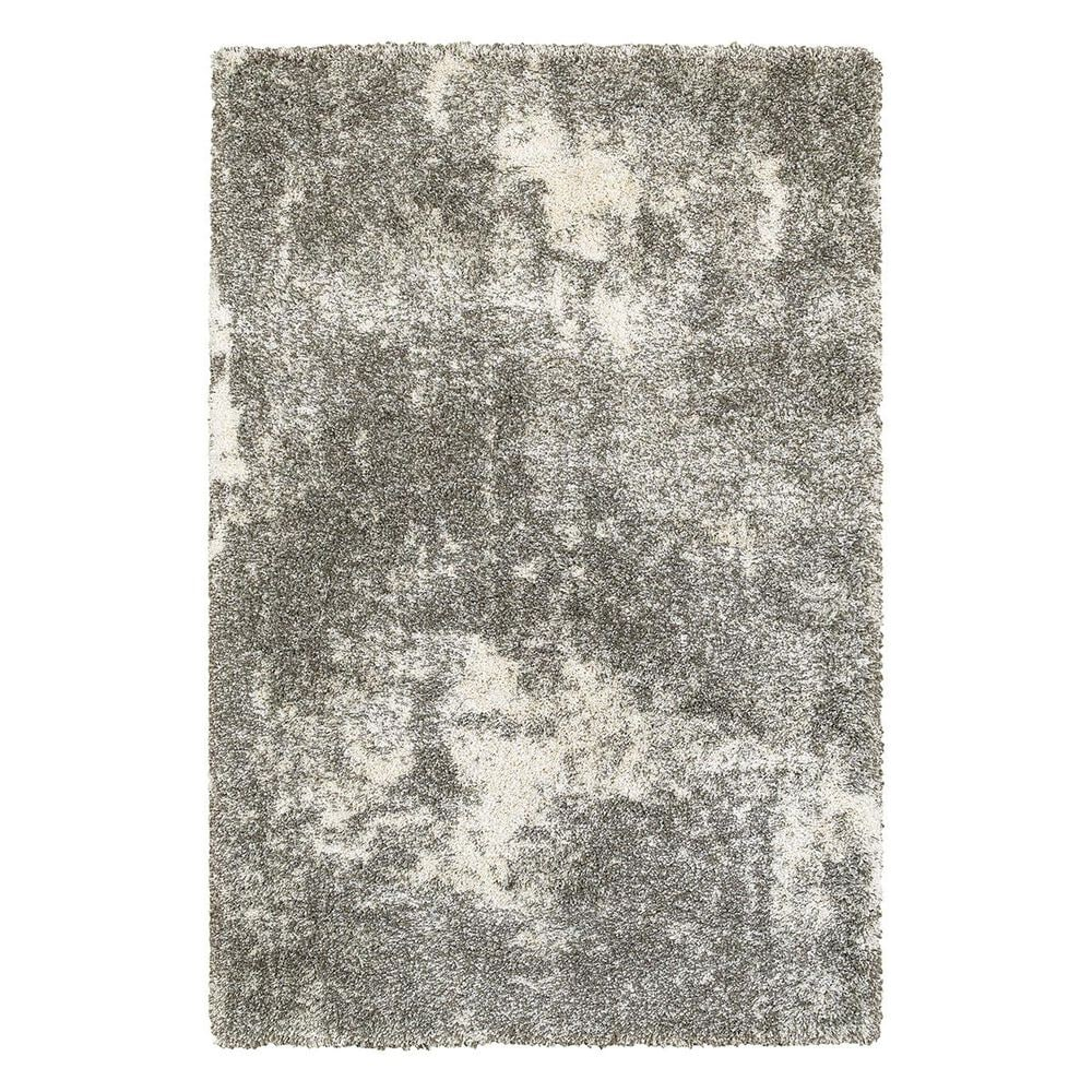"Oriental Weavers Henderson 5503H 7""10"" x 10""10"" Grey/Ivory Area Rug, , large"