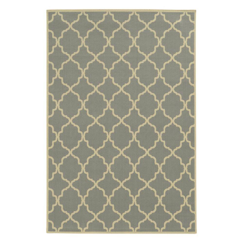 "Oriental Weavers Riviera 4770Y 2""5"" x 4""5"" Grey Area Rug, , large"