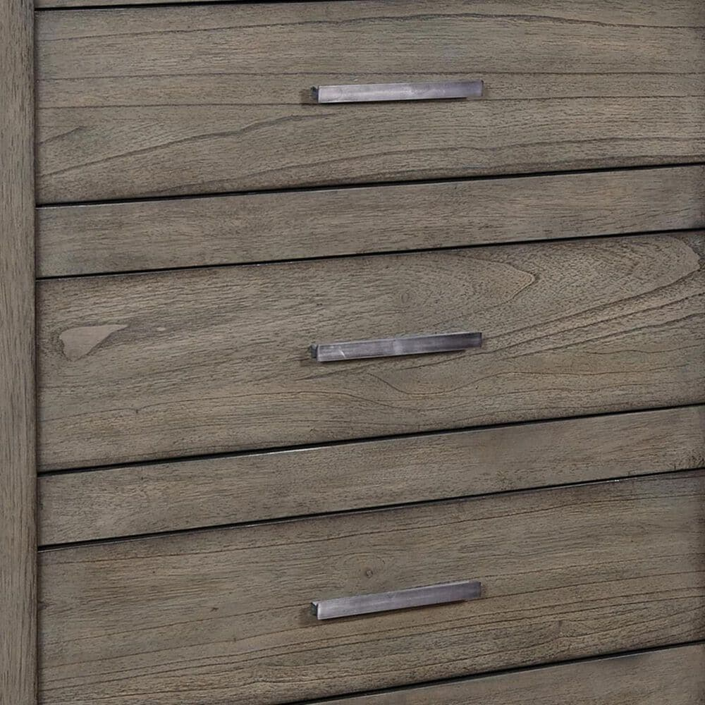 at HOME Modern Loft 5 Drawer Chest in Greystone, , large