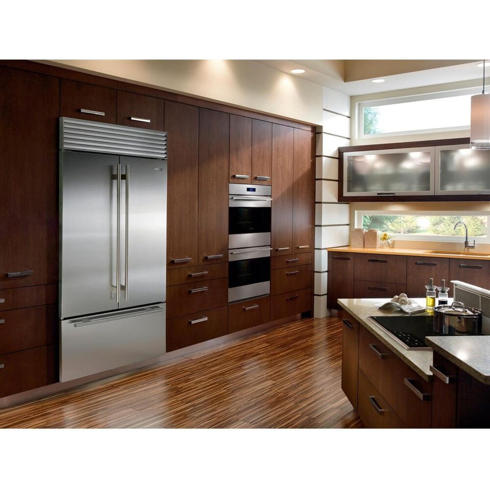"""Sub Zero 42"""" Built-In French Door Refrigerator with Internal Dispenser, , large"""
