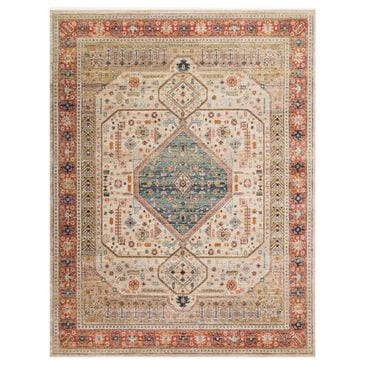 "Magnolia Home Graham GRA-03 9'6"" x 12'6"" Persimmon and Antique Ivory Area Rug, , large"