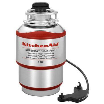 KitchenAid 1-Horsepower Batch Feed Food Waste Disposer, , large