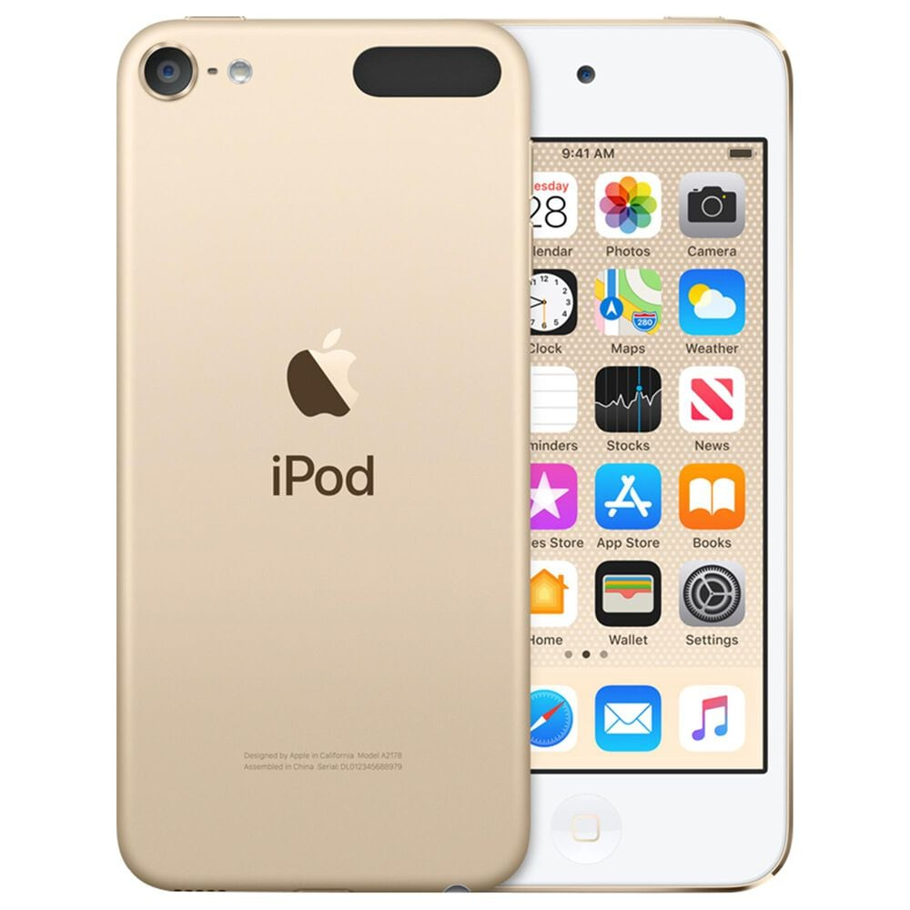 Apple iPod Touch 7th Gen. 32GB with AppleCare+ in Gold, , large