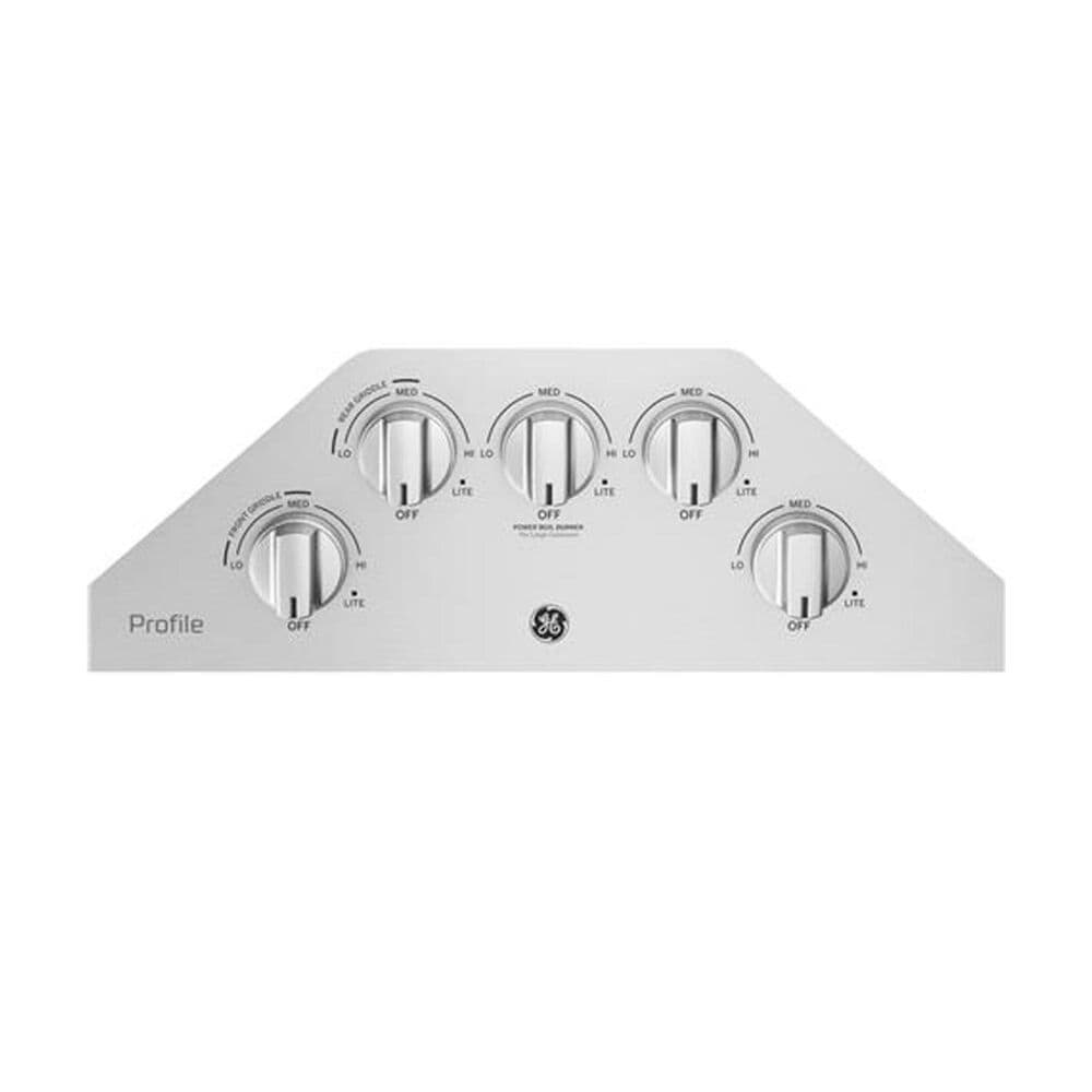 "GE Profile Series 30"" Built-In Gas Cooktop in Stainless Steel, , large"