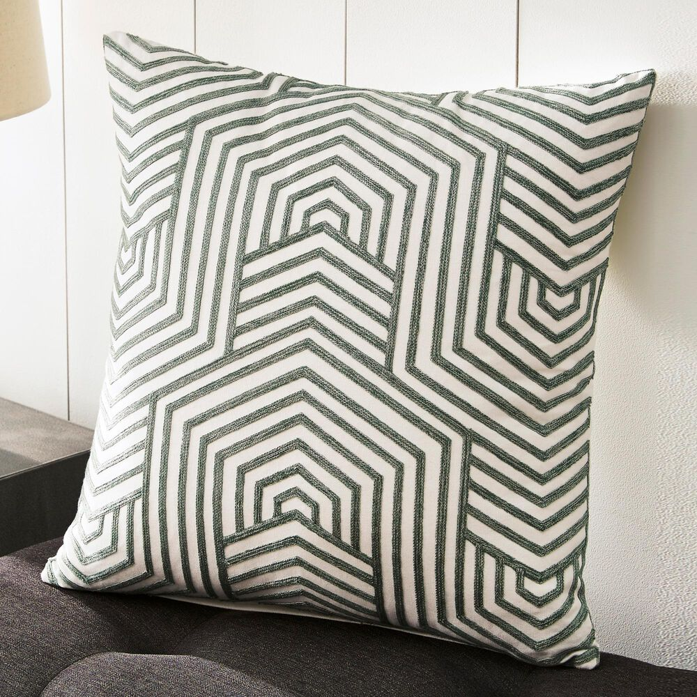 Signature Design by Ashley Adrik Pillow in Green, , large
