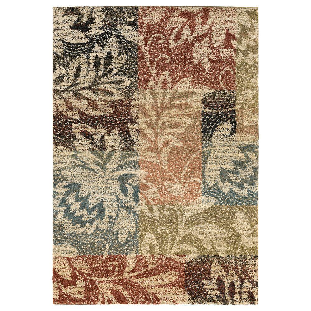 "Oriental Weavers Kendall Botanical 561X1 2""3"" x 7""6"" Ivory Runner, , large"