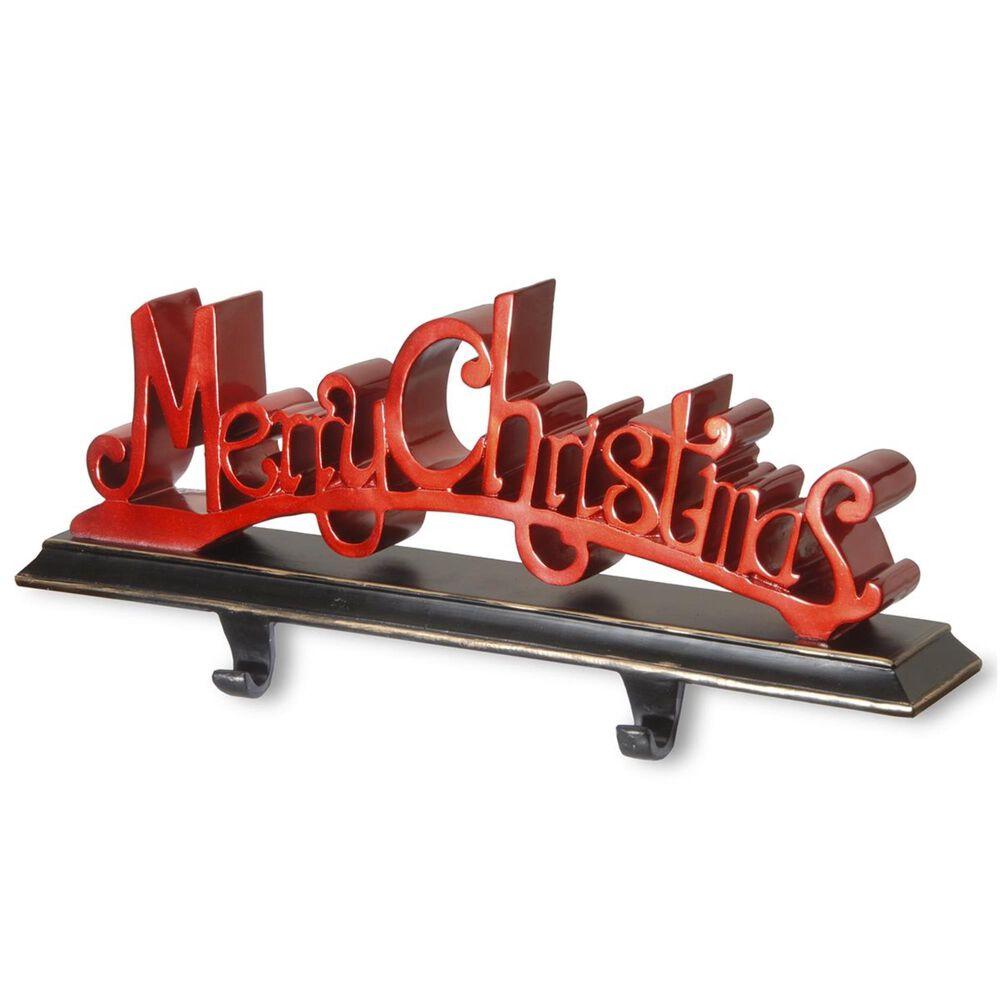"National Tree ""Merry Christmas"" Stocking Holder, , large"