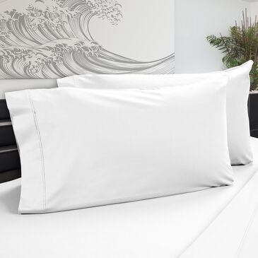 DreamFit DreamChill Degree 5 Enhanced Bamboo Standard Pillowcase in White (Set of 2), , large