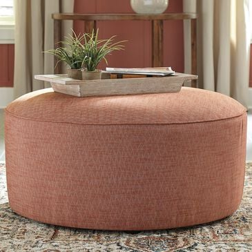 Signature Design by Ashley Almanza Oversized Accent Ottoman in Henna, , large