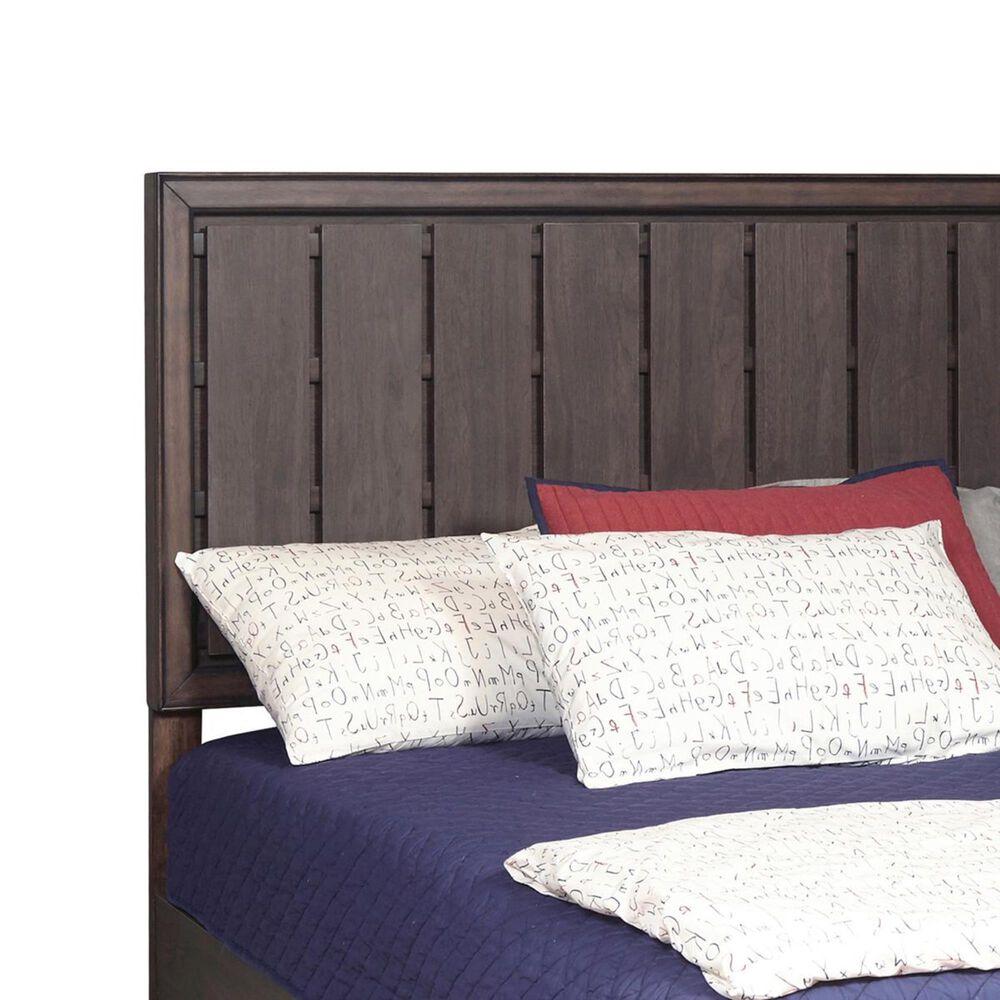 Samuel Lawrence Granite Falls Twin Panel Bed in Dark Brown, , large
