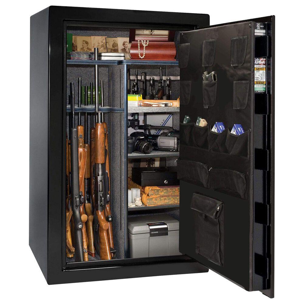 Liberty Safe & Security USA 36 Gun Safe Electronic Lock in Textured Black, , large