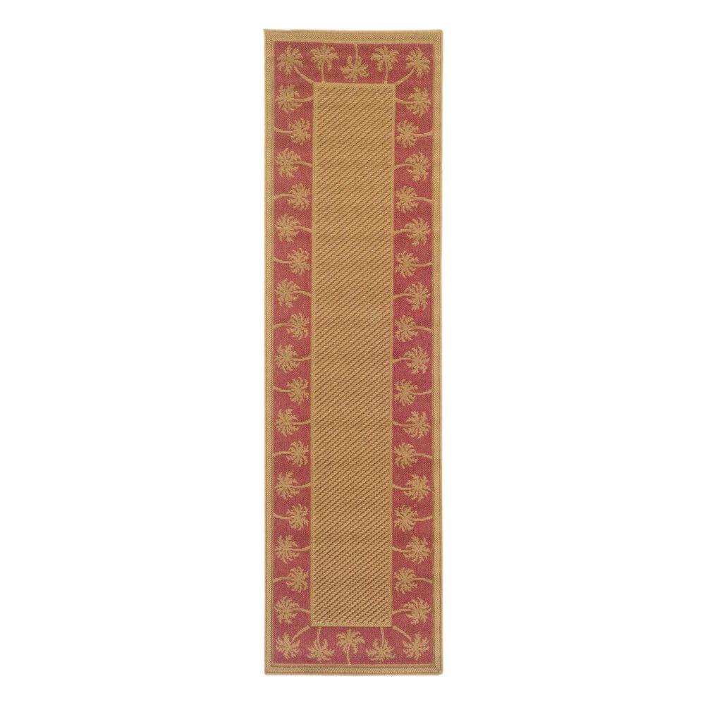 """Oriental Weavers Lanai 606C8 2""""3"""" x 7""""6"""" Beige Runner, , large"""