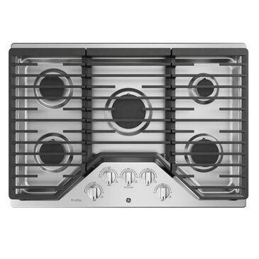 "GE Profile Series 30"" Built-In Gas Cooktop in Stainless Steel, , large"