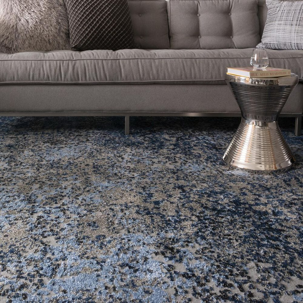 """Loloi Viera VR-07 5'3"""" x 7'6"""" Grey/Navy Area Rugs, , large"""