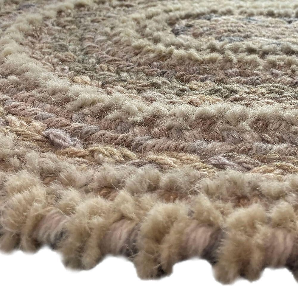 Capel Bayview 0036-760 8' x 11' Oval Neutral Area Rug, , large