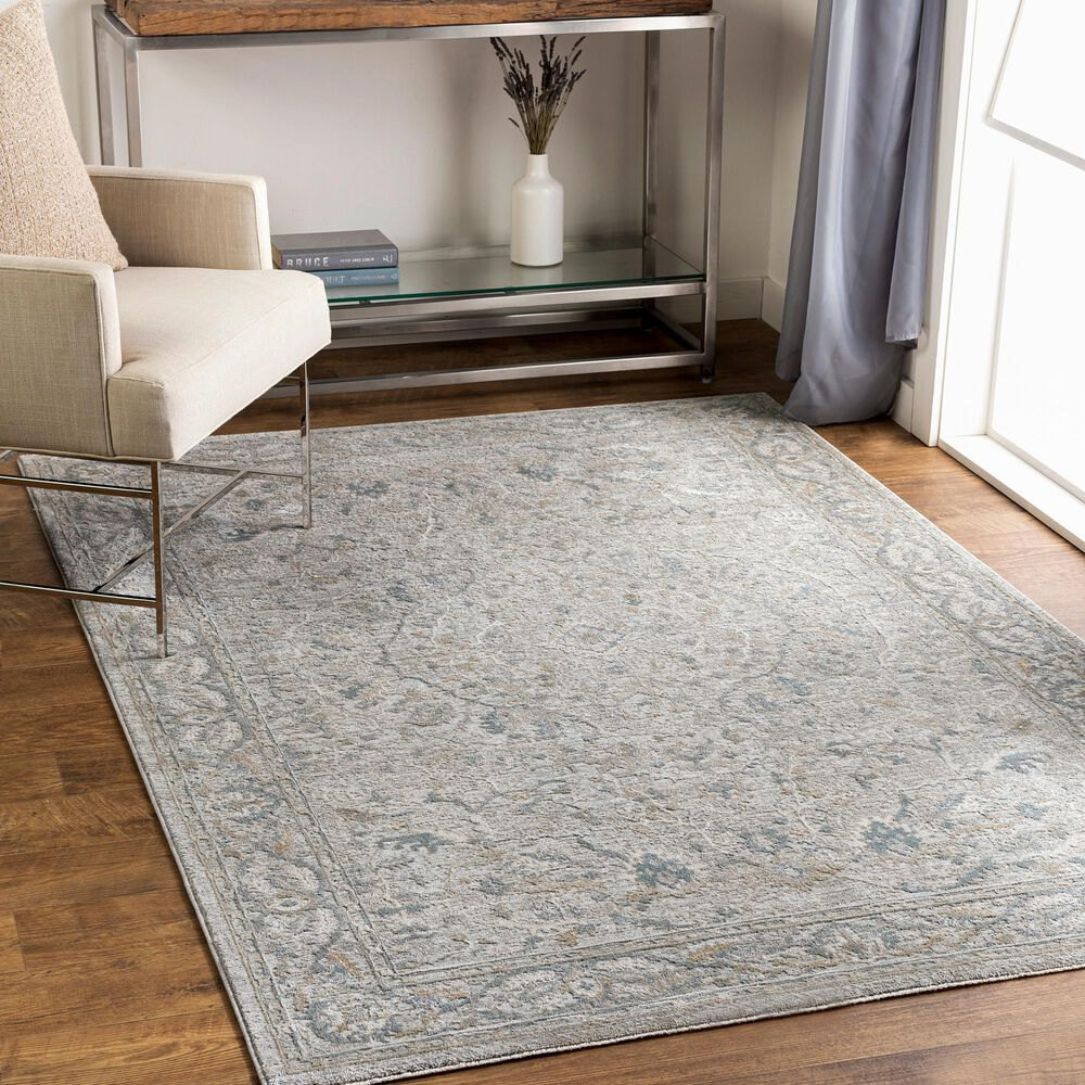 "Surya Brunswick 9' x 12'2"" Beige, Sage and Blue Area Rug, , large"