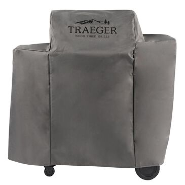 Traeger Grills Gray Full Length Cover for Traeger Ironwood 650, , large