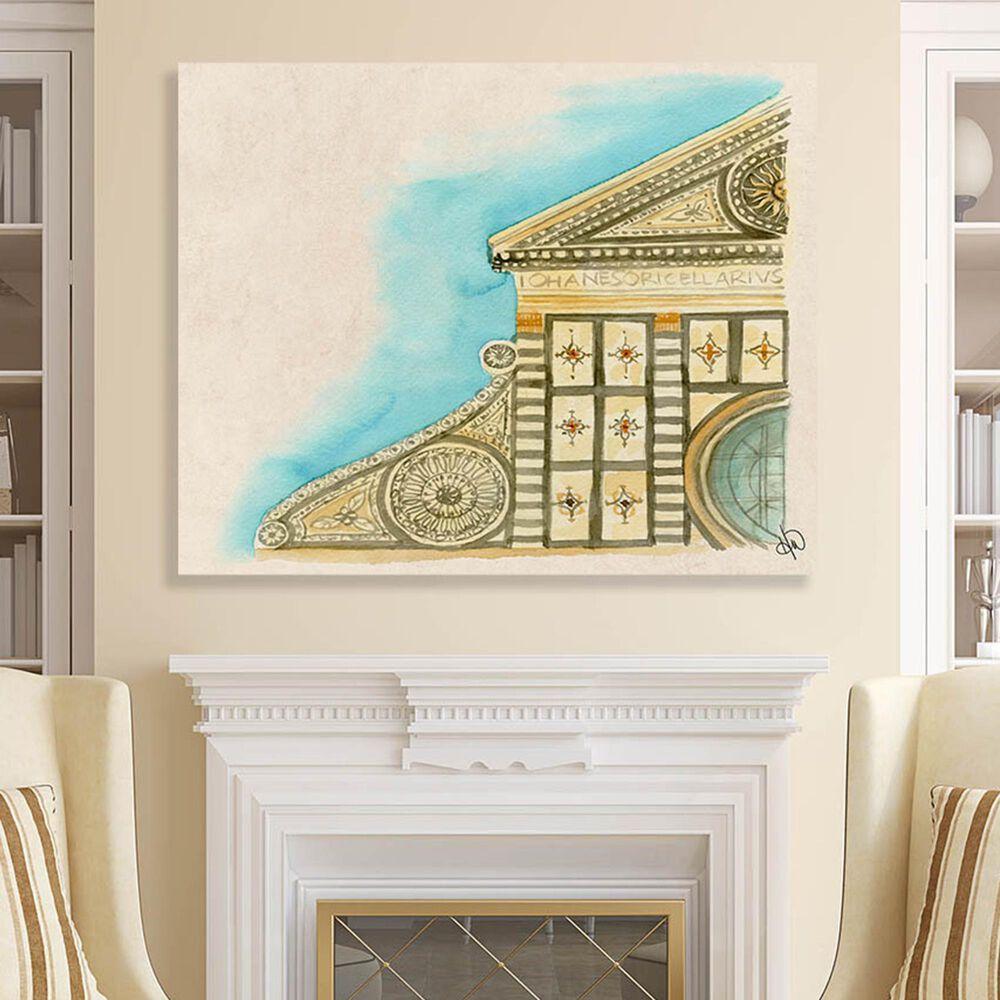 "Kathy Ireland Home ""Santa Maria Novella"" 24"" x 36"" Canvas Wall Art Print, , large"