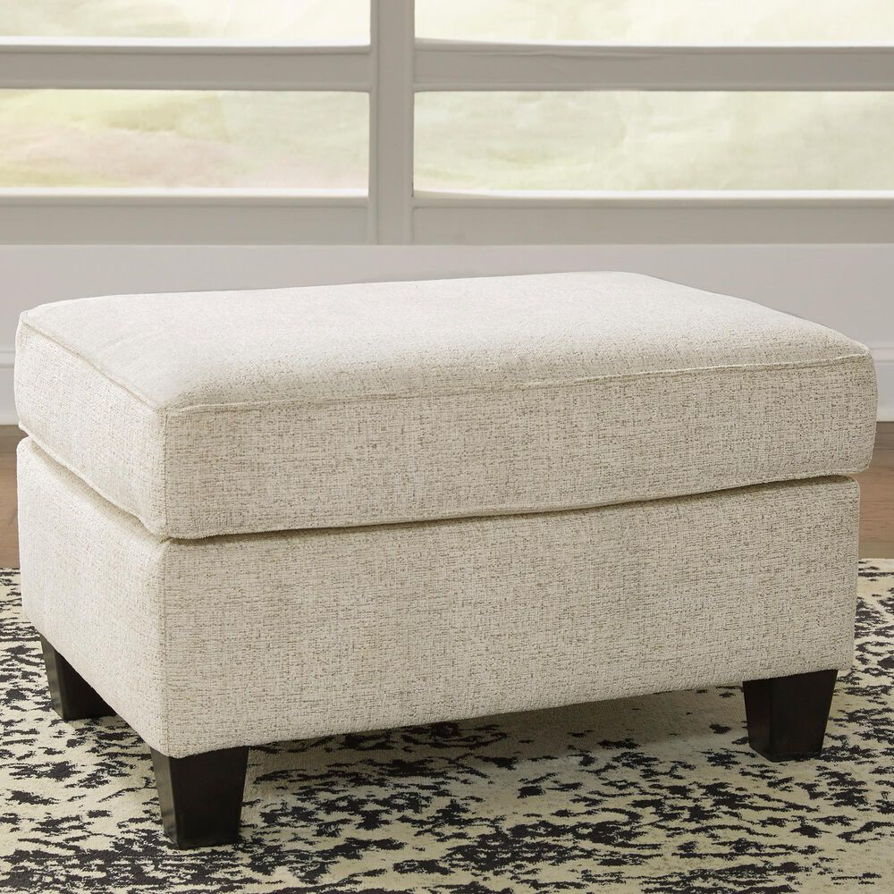 Signature Design by Ashley Abinger Ottoman in Natural, , large