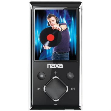 "Naxa 1.8"" LCD Portable Media Player, , large"