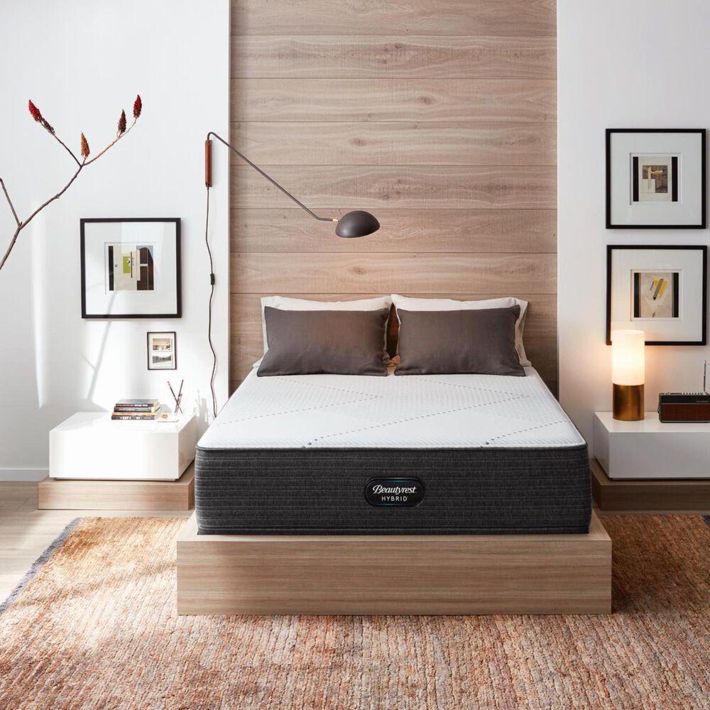 Beautyrest Hybrid1000-IP Plush King Mattress with High Profile Box Spring, , large