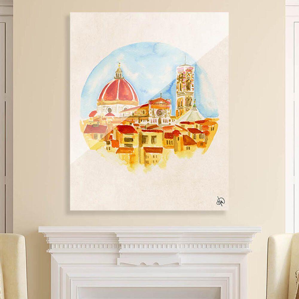 "Kathy Ireland Home ""Camera Con Vista"" 20"" x 16"" Acrylic Wall Art Print, , large"