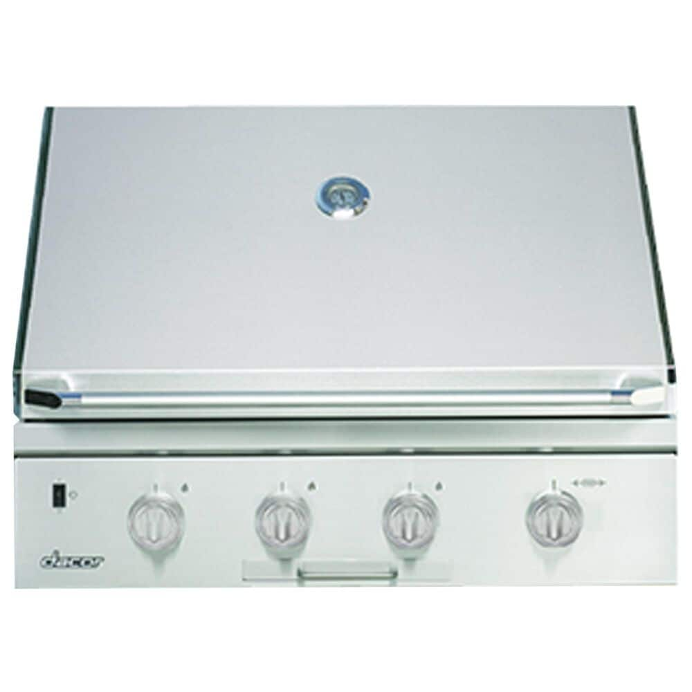 """Dacor 36"""" Built-In Natural Gas Grill Top with Infrared Rotisserie Burner in Stainless Steel, , large"""