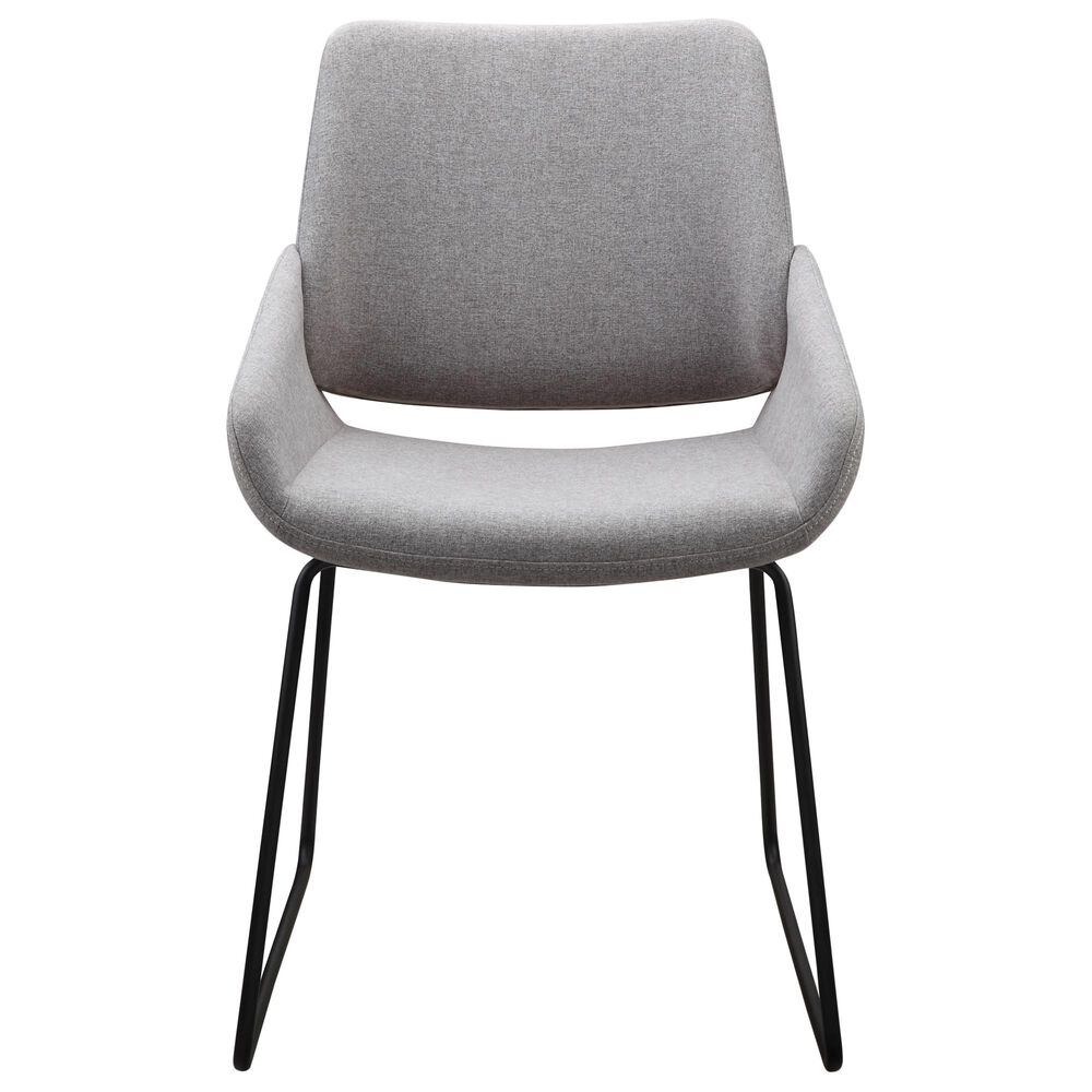 Moe's Home Collection Lisboa Dining Chair in Grey, , large