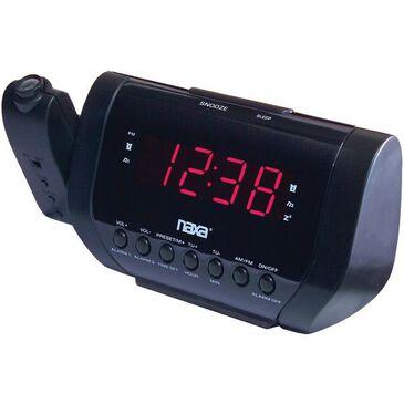 Naxa Projection Dual Alarm Clock, , large