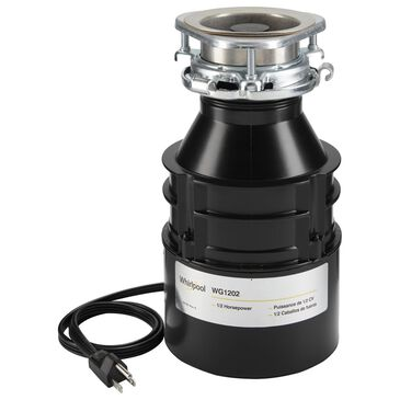 Whirlpool 1/2 HP In-Sink Disposer 1725 RPM , , large